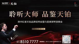 扬州红星天铂品牌说明会暨马里奥钢琴演奏会