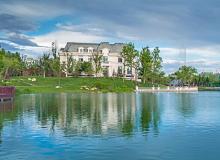 """吾心安处是""""固""""乡丨孔雀城大湖,用温馨景观创造美好生活"""